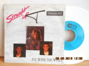 """7"""" 1990 RARE ! STRAIGHT UP - Fly With The Wind """"ERSTAUFLAGE COLOR VINYL"""" - Bgld, Österreich - 7"""" 1990 RARE ! STRAIGHT UP - Fly With The Wind """"ERSTAUFLAGE COLOR VINYL"""" - Bgld, Österreich"""