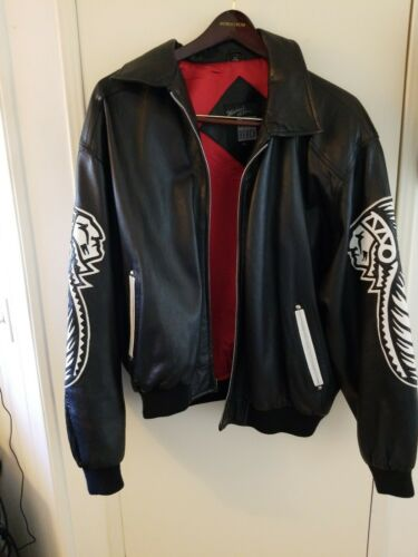 Michael hoban north beach leather bomber jacket
