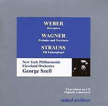 Overtures/Preludes and Overtures/Till Eulenspiegel von Geo...   CD   Zustand gut