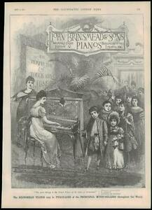 1889-Antique-Print-ADVERTISING-JOHN-BRINSMEAD-amp-SONS-PIANOS-143