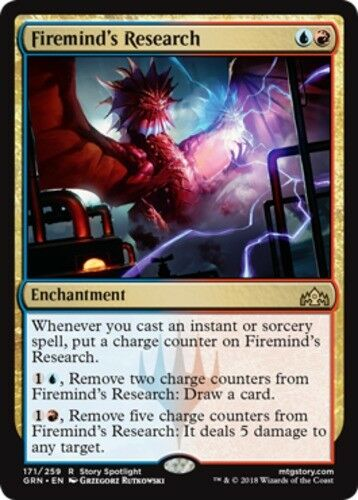 4x Firemind/'s Research NM-Mint English Guilds of Ravnica MTG Magic