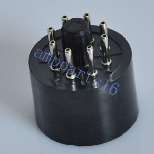 4pcs 8Pin Bakelite Vacuum Tube Socket Saver for EL34 6SN7 KT88 5AR4 5U4G KT66