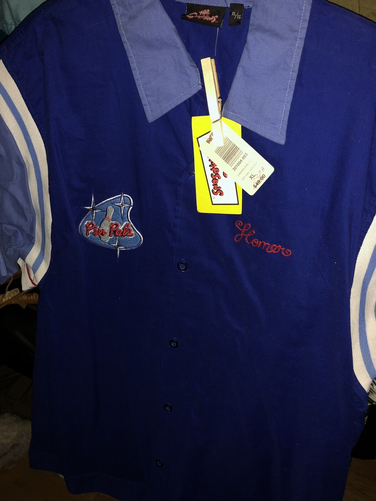 The Simpsons  Springfield Bowling League shirt  NWT  XL