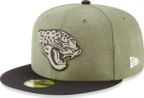 New Era Jacksonville Jaguars Salute To Service Cap 59fifty Fitted Limited