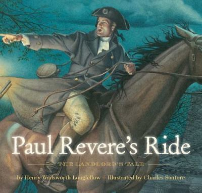 Paul Revere/'s Ride by Henry W Longfellow New Collectible Large Hardcover Gift