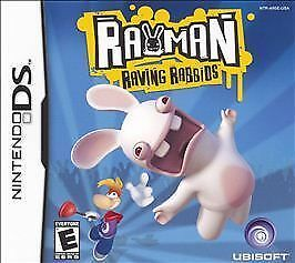 RAYMAN RAVING RABBIDS VIDEO GAME NINTENDO DS COMPLETE WITH CASE AND MANUAL 2007