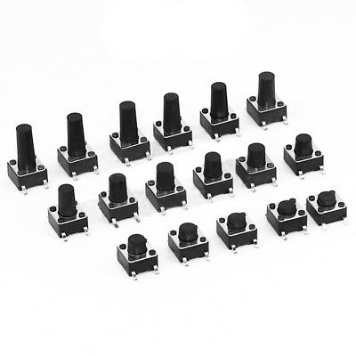 6x6mm SMD Small Mini Micro Momentary Tactile Push Button Switch// Various heights
