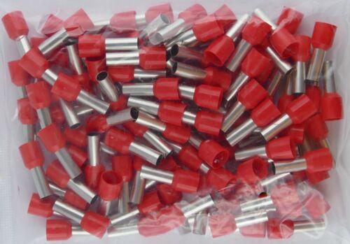Aderendhülsen isoliert 10 qmm rot Intercable                         100   Stück