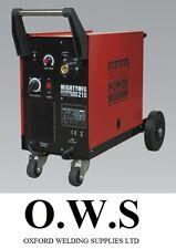 SEALEY MIGHTYMIG210 210Amp Gas / No Gas Mighty Mig Welder + EXTRAS