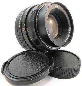 SERVICED-KMZ-HELIOS-44m-58mm-f-2-Russian-USSR-Lens-Screw-Mount-M42-44-2