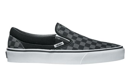 Vans zapatos skater zapatos Classic checkerboard slip-on Black