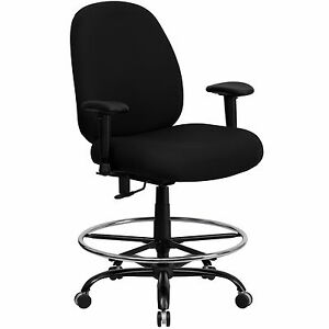 Fantastic Details About Big And Tall Office Chairs Triton Heavy Duty Office Chairs Spiritservingveterans Wood Chair Design Ideas Spiritservingveteransorg