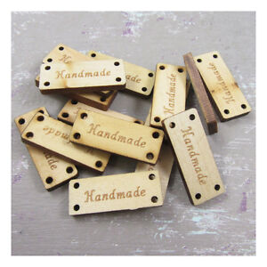 25-WOODEN-HANDMADE-TAGS-2-DESIGNS-SCRAP-CHRISTMAS-CRAFTS-LABELS-KNITTING