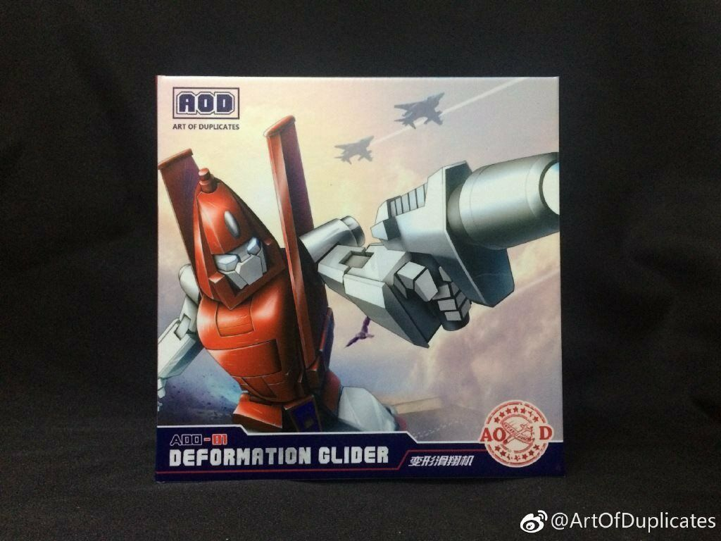 Transformers Masterpiece AOD-01 DEformation Glider   Powerglide & Astoria MISB