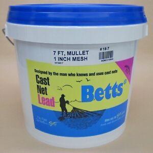Betts-Mullet-7-039-Cast-Net-1-034-Mesh-Casting-Net-18-7