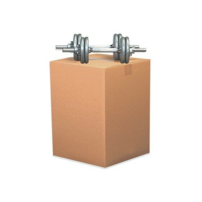 Thornton's Double Wall Boxes, 15   x 15   x 15  , Kraft, 15