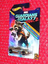 Hot Wheels Marvel Guardians of the Galaxy Vol.2 Rocket Raccoon Fast Fish  DWD75