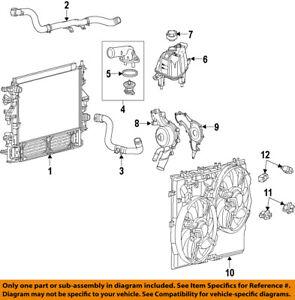 CHRYSLER OEM-Radiator Coolant Overflow Tank Recovery Bottle 4596466AG
