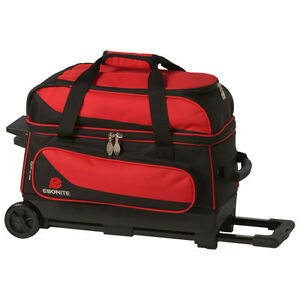 Image Is Loading Ebonite Transport 2 Ball Roller Bowling Bag With