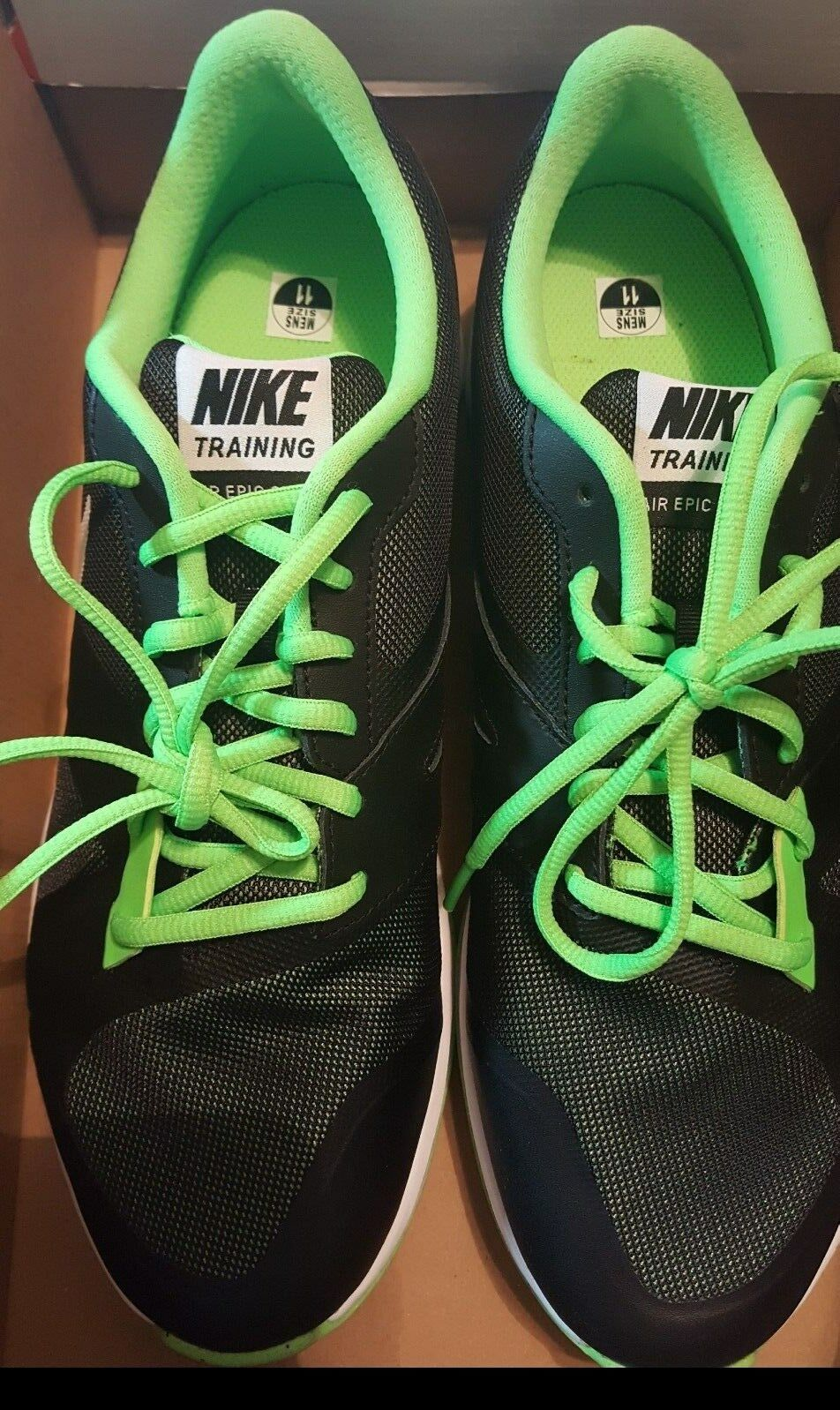Mens, Nike, Training/Running Shoes, Black/White/Voltage Green, Comfortable Cheap women's shoes women's shoes