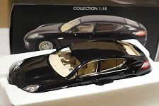Porsche Panamera 4S 2009 schwarz metallic 1:18 Norev 187617 neu + OVP