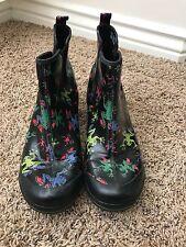 Dansko Frog Vail Rain Boots Waterproof Coated Canvas womens size 41