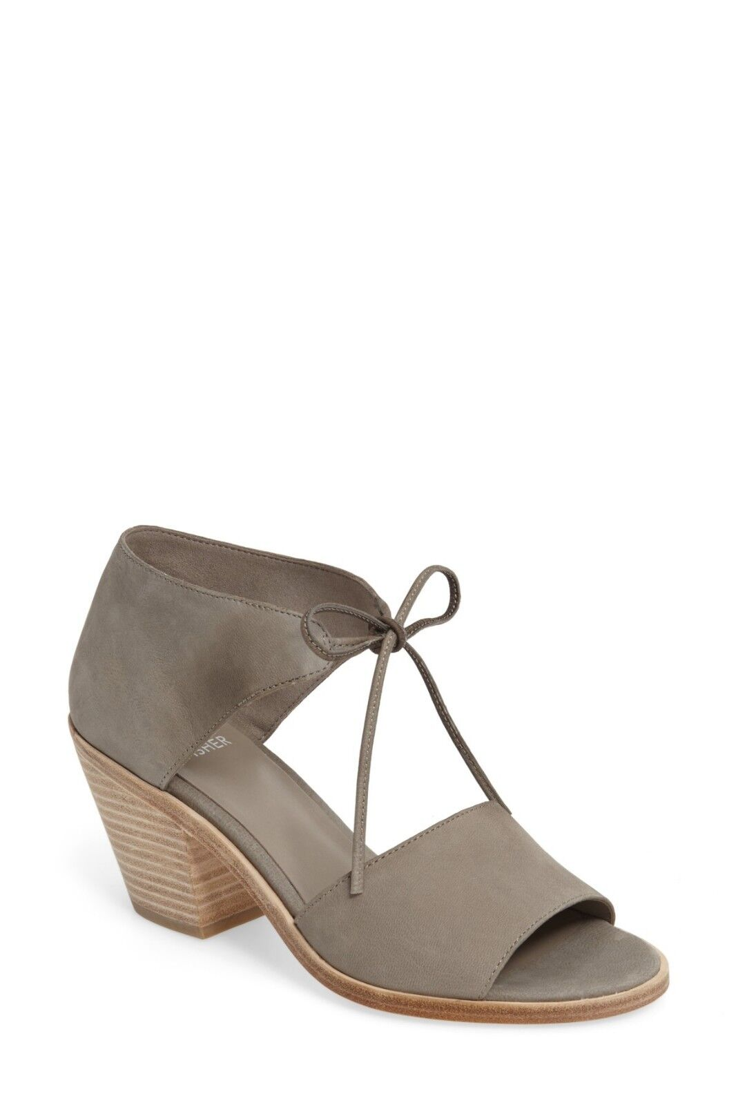 Eileen Fisher Ann Ankle Tie Sandal Moon Dimensione 9 (Retail  235)