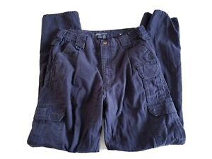 5 11 511 Tactical Series Pantalones Para Hombres Talla 34x34 Azul Residuos Extensor De Carga Ebay
