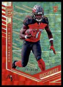 2018 Donruss Elite Red Parallel Ronald Jones Ii Rc 187 199 Bucs Ebay