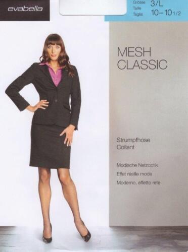 Damen Netzstrumpfhosen  Netzoptik Strumpfhosen großmaschig Mesh Classic 2017