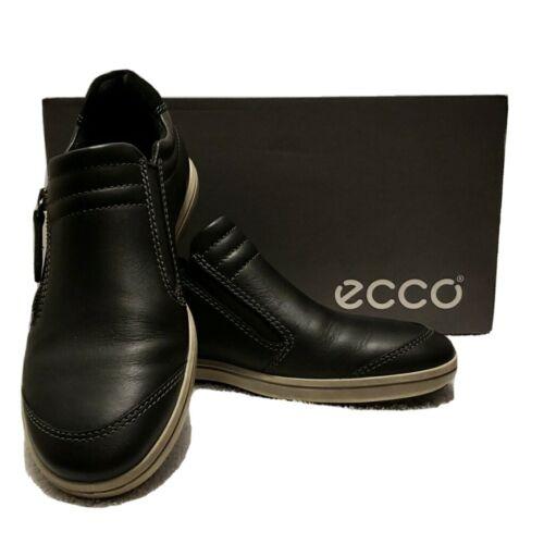 Ecco Alona slip on, side zipper, black, 6.5