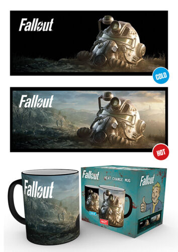 Fallout 76 Dawn 10oz 300ml Breakfast Coffe Heat Changing Ceramic Mug