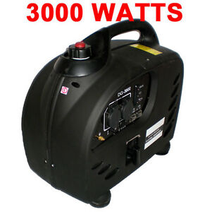 Marvelous Image Is Loading PureWave Digital 3000 WATT GAS GENERATOR INVERTER QUIET