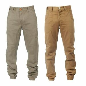 Mens-ETO-Cuffed-Ankle-Chinos-Straight-Designer-Regular-Jeans-Pants-Trousers