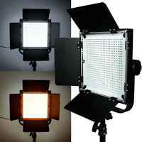 576 Leds Light Panel Kit Photography Video Studio Lighting Dimmer Mount Photo Us on sale