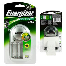Energizer Recharge BASE Charger for AAA & AA rechargeable NiMH batteries EU plug