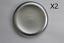 thumbnail 2 - 2X FRONT WHEEL CENTRE TRIM HUB CAP FOR FORD TRANSIT MK6 MK7 MK8 TWIN REAR WHEEL