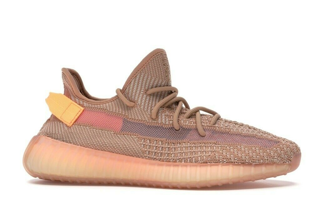 New Authenic Adidas Yeezy Boost 350 v2 Clay orange Men's Running Athletic shoes