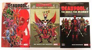 Deadpool-amp-the-Mercs-For-Money-Vol-0-1-amp-2-Marvel-Graphic-Novel-Comic-Book