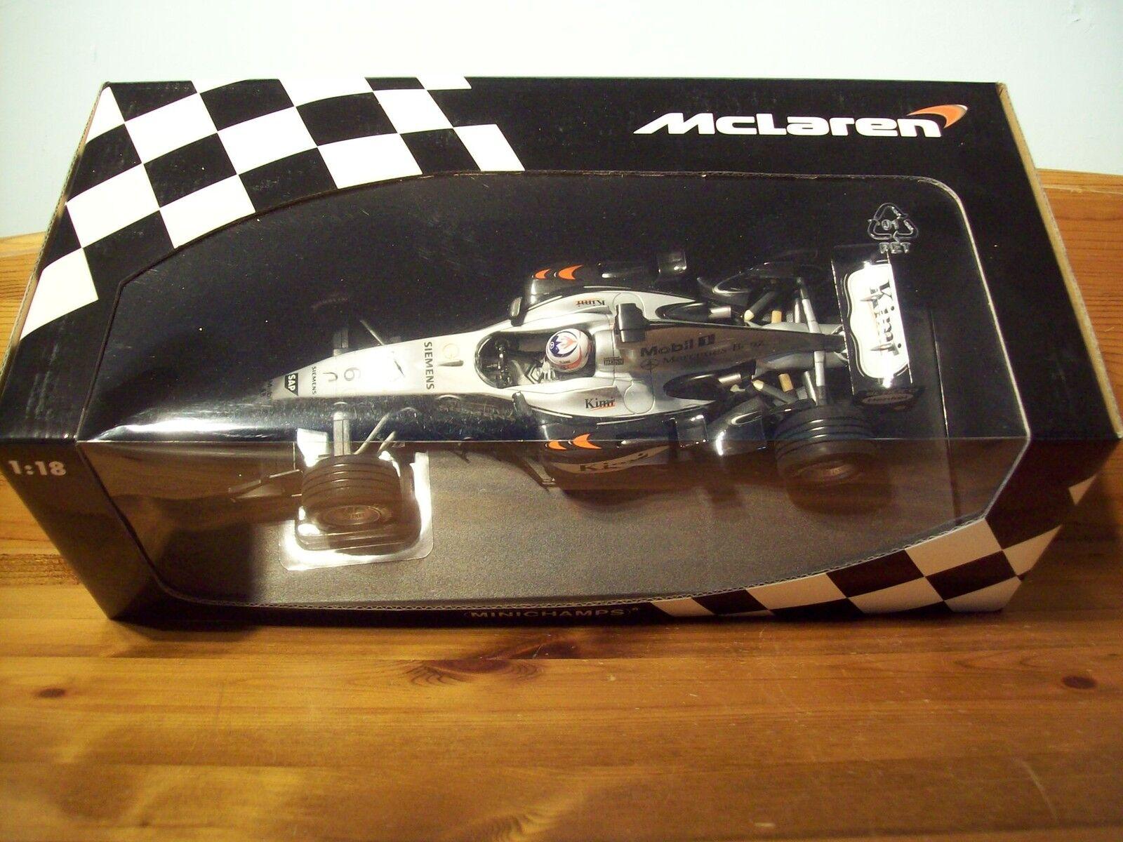 1 18 McLaren Mercedes MP4 19 2004 Kimi Raikkonen