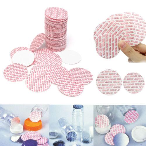 100Pcs Press /& Seal Cap Liners Jar Bottle Foam Safety Tamper Seals 20//24//28//38mm