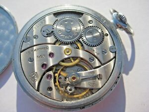 Molnija SOVIET Russian USSR СССР Pocket Watch
