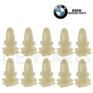 E83 X3 6 Genuine BMW Door Sill Strip Clips E32 E34 E36 E38 E39 E46 E65 E66