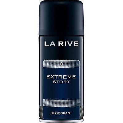 "4,33EUR/100ml LA RIVE ""EXTREME STORY"" MEN Deodorant SPRAY ** NEU 150 ml"