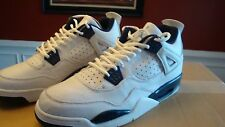 Nike Air Jordan Retro + IV 4 1999 White Columbia Blue Midnight Navy DS Size 13