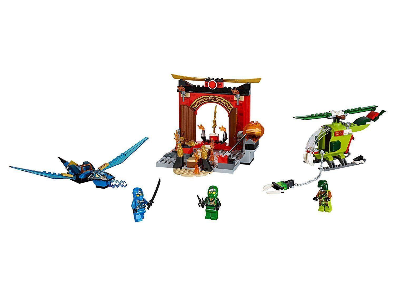 LEGO 10725 - Juniors Lost Temple NINJAGO - ritirato sigillato sigillato sigillato nuovo dragone 961d53