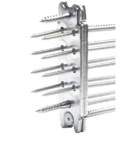 10x Set Passverbinder RICON 140 40 EA, komplett mit Schrauben (ähnlich Simpson)