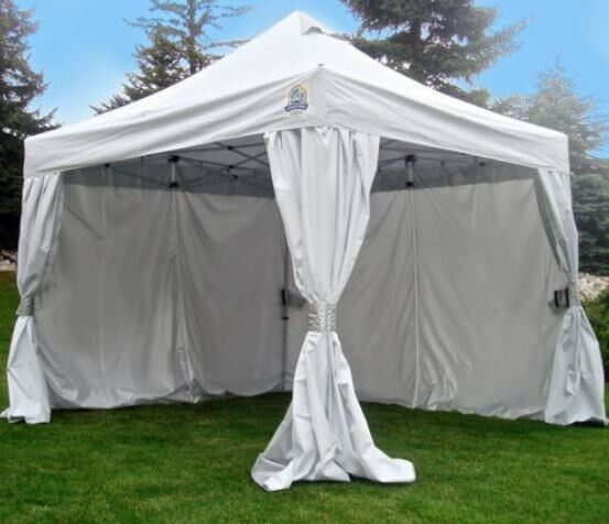 Canopy Tent Shelter Commercial Grade E-Z Up 10u0027 x 10u0027 Storage Bag Flea Market & Canopy Tent Shelter Commercial Grade E-Z Up 10u0027 x 10u0027 Rolling ...