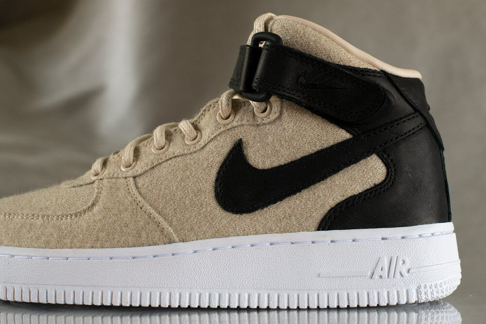 NIKE AIR FORCE 1 MID LTHR chaussures for femmes Style 857666, NEW US Taille 7