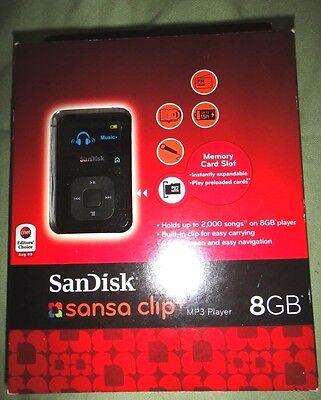 SanDisk Sansa Clip+ MP3 Player Black 8GB